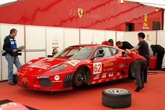 Risi Competizione Ferrari, much happier now.