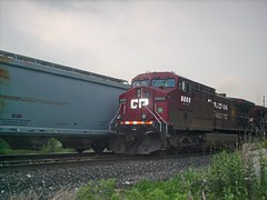 Southbound Canadian Pacific transfer train passing through Hawthorne Junction. Chicago / Cicero Illinois. June 2007.