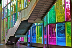 """ Stairway To Heaven "" (gmayster01 on & off ...) Tags: canada flickr quebec montreal stairwaytoheaven palaisdescongres gmayster01"