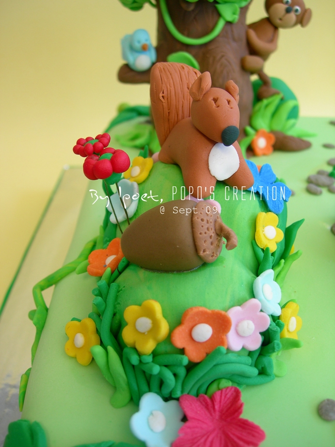 Back to the Jungle Cake for MORI