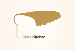 Gods Kitchen Logo Ideas v7 Bread and Milk