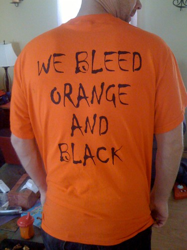 We Bleed Orange and Black