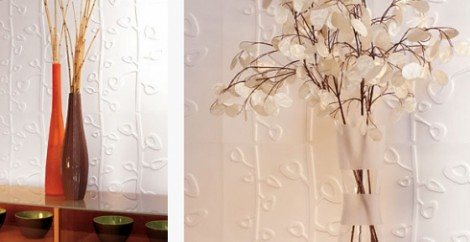 Make a Contemporary Décor Wall with Inhabit's Eco Friendly Wall Flats
