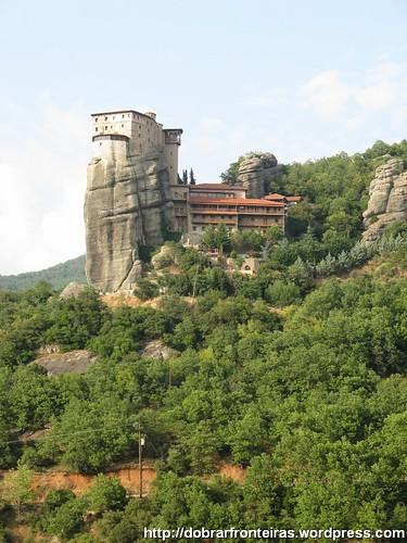 Mosteiro de Roussanou, Meteora, Grécia