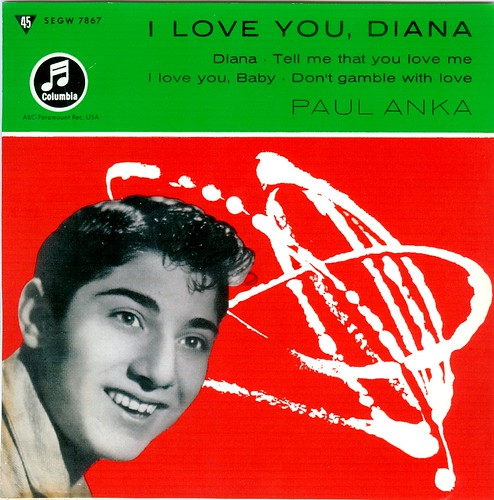 1 - Anka, Paul - I Love You Diana . EP - D - 1957