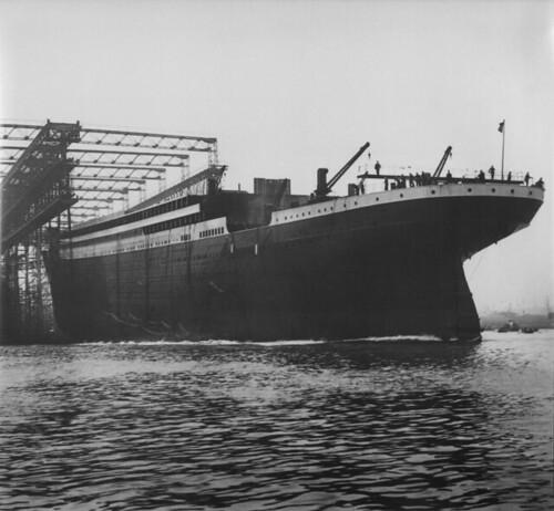 Titanic beginning Harland & Wolff