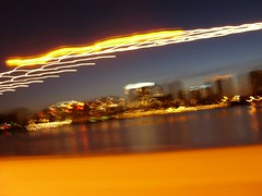 Lake Merritt, the Necklace, and speed, Lakeshore Avenue, Oakland, June 21, 2009 (4) (/\/\ichael Patric|{) Tags: california park street city light urban lake motion blur water northerncalifornia june skyline geotagged lights drive oakland evening moving movement twilight downtown driving cityscape lagoon estuary sanfranciscobayarea lakemerritt bayarea eastbay sfbayarea streaks westcoast tidal 2009 lakefront alamedacounty oaklandcalifornia michaelpatrick alamedacountycalifornia geo:lat=37804 address:continent=northamerica address:country=unitedstatesofamerica address:state=california address:city=oakland june2009 address:postalcode=94606 address:street=lakeshoreavenue geo:lon=122251