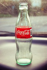 Enjoy life (Ms. Palindrome) Tags: classic glass logo bottle cola label coke soda dashboard coca