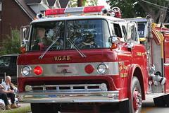 Fire Truck (ahhhrats) Tags: autumn red truck fire grove kentucky engine vine parade department daze vgfd vinegrove