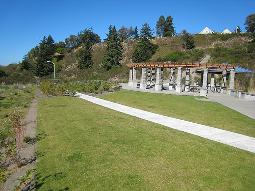 Picnic area at Richmond Beach