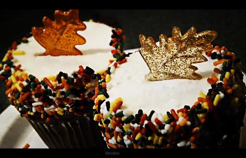 Autumn cupcakes!