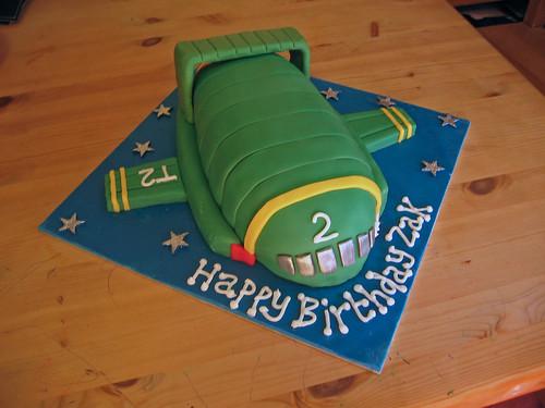 Thunderbirds Are Go Birthday Cake