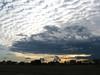 pedalare al tramonto