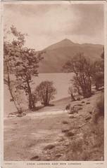 Loch Lomond And Ben Lomond