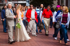 Wedding for the masses (weissfoto) Tags: wedding usa ny newyork bride weddings stpaulschapel groome