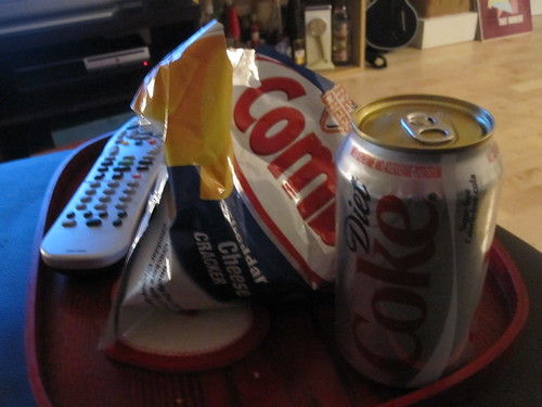 Combos and Diet Coke