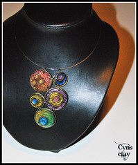 (Cynthia Gordillo) Tags: color design arte handmade ooak wear jewellery fimo clay mano diseo unica kato artesania cernit hecho pieza joya bisuteria polymer unico artesano premo exclusivo hechoamano arcilla artesana polimerica