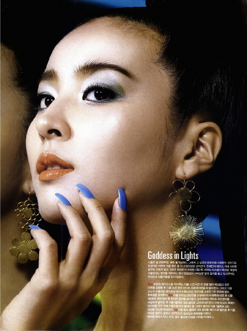 Han Hye Jin(한혜진)-Neon light show  tag: korea actress han-hye-jin