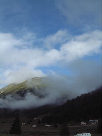 Nubi disciolte.
