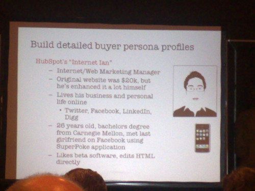 Buyer persona profiles