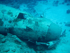 Sunday1-17 (mtarlock) Tags: plane underwater bahamas wreck dc3 intotheblue