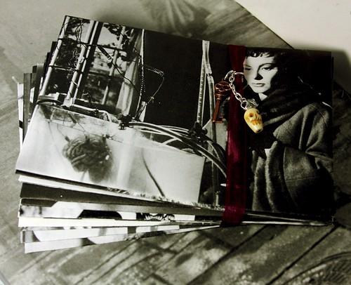 Upcycled Vintage Horror Movie Envelopes