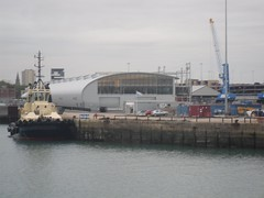 Southampton Docks (crwilliams) Tags: hampshire southampton date:month=october date:day=15 date:year=2009 date:hour=17 date:wday=thursday