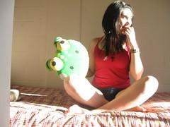 con mi peluche xd (Loreena Masieel $:) Tags: de fotos xd lore