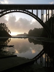 Russian Gulch Bridge (judi berdis) Tags: bridge pacificocean mendocinocoast russiangulch mywinners