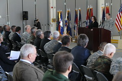 USAREUR, USACE close books on 10-year transformation project (USACE Europe District) Tags: germany audience ceremony flags podium colonel speech commander usarmy nau ebg usace acus usarmycorpsofengineers eud grafenwoehr europedistrict usaggrafenwoehr usarmygarrisongrafenwoehr efficientbasinggrafenwoehr