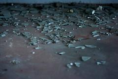 (~nachtglitzern) Tags: berlin broken glass station train germany decay decadence pankow gterbahnhof