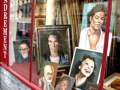 Iggy, Michael, Edith, and the gang (Paris)