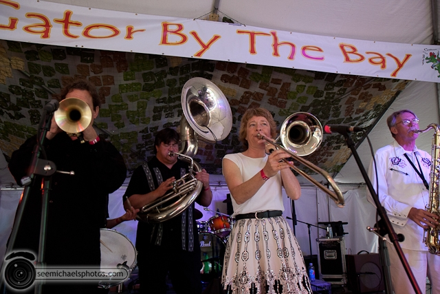 Euphoria Brass Band Show at Gator by the Bay 50811 © Michael Klayman-013