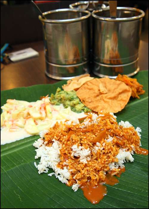 vegetarian-banana-leaf