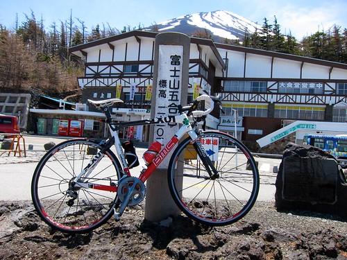 Mt.富士ヒルクライム試走(20110515)