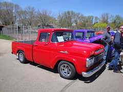 59 Ford F-100 Pick-up Truck (DVS1mn) Tags: show cars ford car club nine may wcc nineteen 59 1959 fifty willmar fomoco ninety henryford 2011 fordmotorcompany ninetyfiftynine nineteenfiftynine