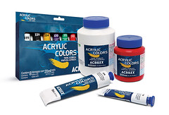 Acrylic Colors (Acrilex) Tags: tinta pintura artesplsticas artstica acrilex