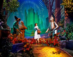 The Yellow Brick Road (Ray Horwath) Tags: dorothy nikon oz scarecrow disneyworld movies nikkor wdw waltdisneyworld wizardofoz mgm toto emeraldcity tinman greatmovieride nikkorlens yellowbrickroad cowardlylion horwath d700 hollywoodstudios disneyphotos disneyshollywoodstudios rayhorwath nikkor20mmf28lens