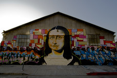 Mona Lisa Graffiti Mural (johnwilliamsphd) Tags: copyright john la guesswherela losangeles williams c guessed  300000 williams john johncwilliams johnwilliamsphd phd