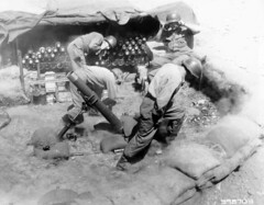 Korean War - SC398703 (U.S. Army Korea (Historical Image Archive)) Tags: morning family red camp music food cloud art infantry soldier army casey us construction war republ
