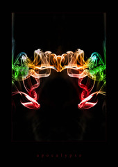 Apocalypse (nessguide) Tags: photoshop smoke apocalypse trails incense