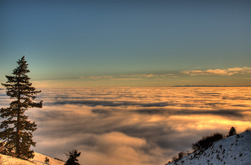 Above the Clouds - HDR