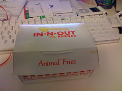 Animal Fries Container