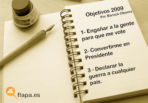 objetivos obama 2009