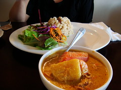 Yellow Chicken Curry Lunch Special