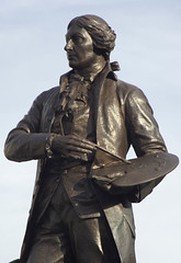 Gainsborough statue, Sudbury, Suffolk