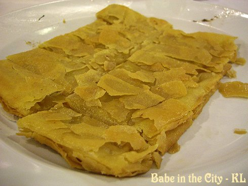 Chinese Lotus Paste Pancake (RM10)