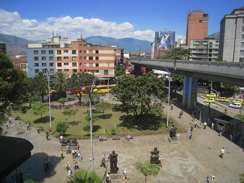Botero Plaza, central Medellin