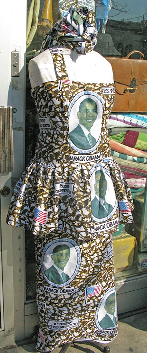 A dress in 125th