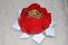 (anamoniq) Tags: flower origami lotus paperfolding
